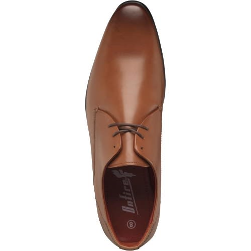 48a52cc06c6863 Onfire Mens Lace Up Leather Derby Shoes Tan | Konga Online Shopping