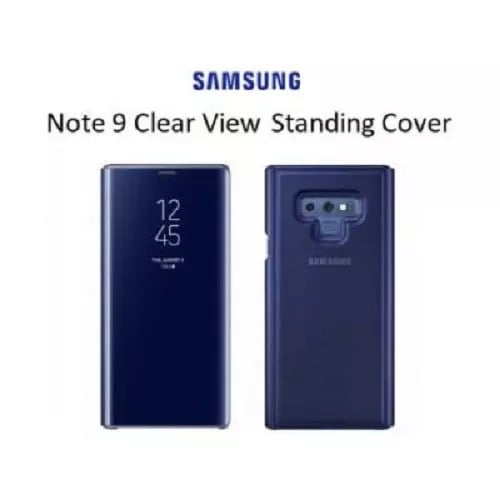 info for 0cf33 f0d3b Clear View Smart Case With Sensor For Samsung Galaxy Note 9 - Blue