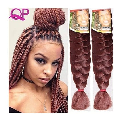 Expression Hair Attachment, Ultra Braid 2 Packs Set, Colour 33