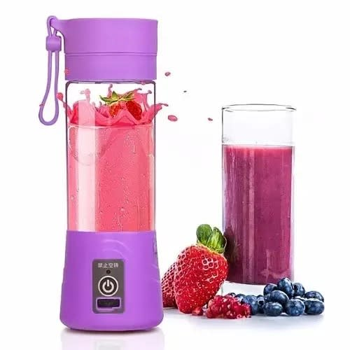 Rechargeable Blender With Usb Port.
