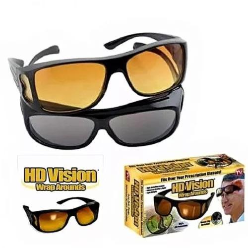 06da4985a661 HD Vision Anti Glare Sunglasses Wrap Around Day & Night Driving ...