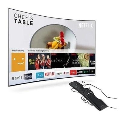 "55"" 4k Uhd Curved Led Smart Tv - Ua55mu7350 Series 7"