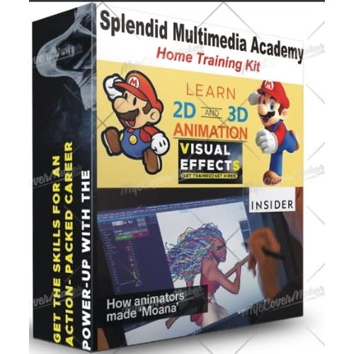Learn 2d And 3d Animation (video Home Training Kit)
