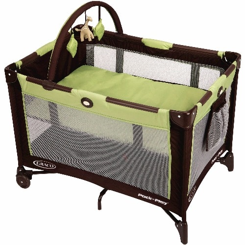 Graco Pack n Play Playard with Twins Bassinet Vance