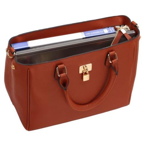 /P/a/Padlock-Tote-Handbag---Brown-7393140.jpg