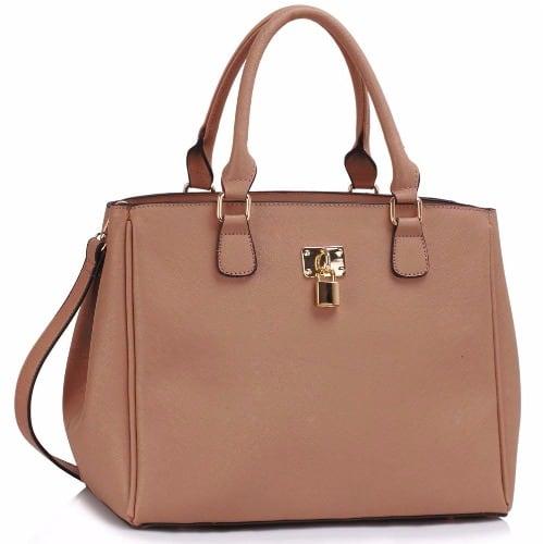 /P/a/Padlock-Tote-Handbag---Nude-7816043.jpg