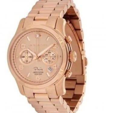 bb73621cd772 Michael Kors Paris Limited Edition Runway Rose-gold Watch Mk5716 ...