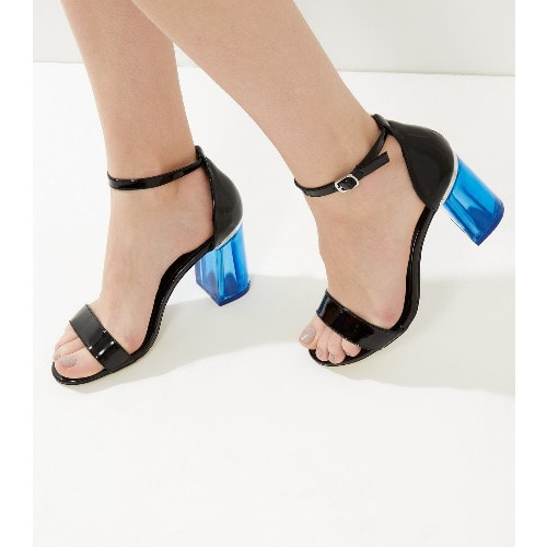 /P/a/Patent-Contrast-Perspex-Flared-Heeled-Sandals---Black--6108751.jpg