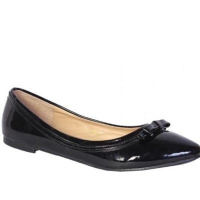/P/a/Patent-Leather-Bow-Detail-Flats---Black-7033875.jpg