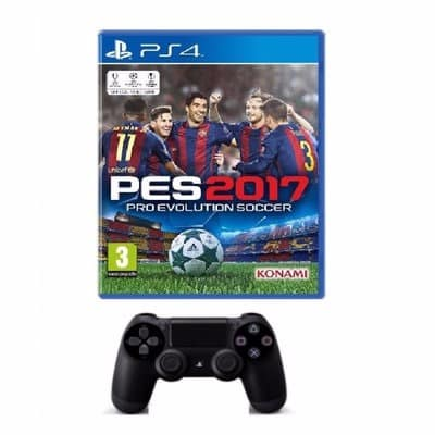 Pes 17 & Dualshock 4 Wireless Controller - Ps4