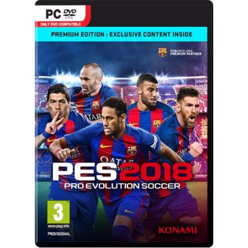 Pes 2018 PC Game + Full Transfer Patch & Full Licenses & Kits