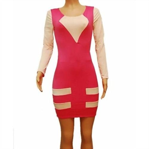 /P/i/Pink-Two-Tone-Sexy-Mini-Bodycon-Dress-6953153.jpg