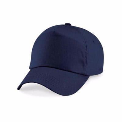 da1dcb2267d Plain Baseball Face Cap - Navy Blue