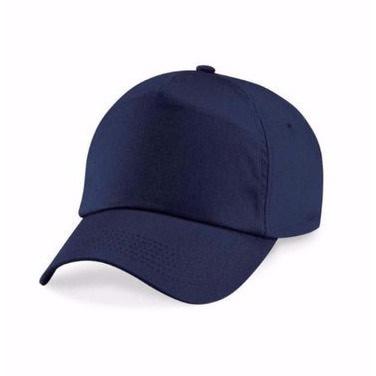 5f33f4b3dd Plain Baseball Face Cap - Navy Blue