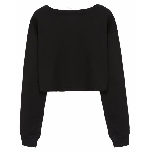 c53ae2b309c Plain Crop Top - Black