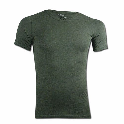 8f01e493b Bershka Plain T-shirt - Army Green | Konga Online Shopping