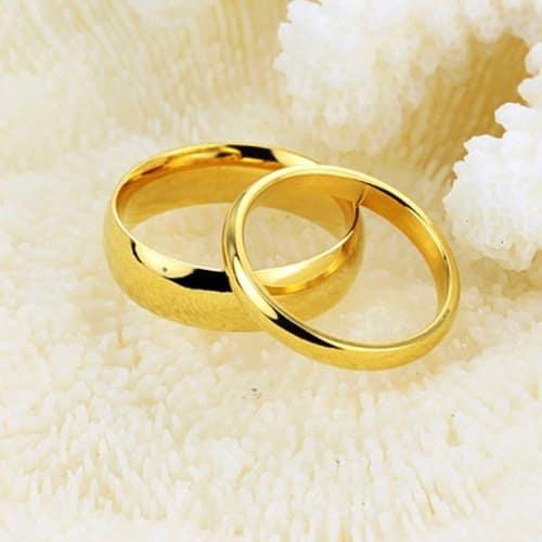 Plain Wedding Engagement Rings Gold Konga Online Shopping