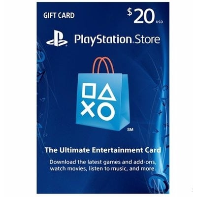 PlayStation PSN (US)Store $20 Gift Card for PS3/PS4/PSvita