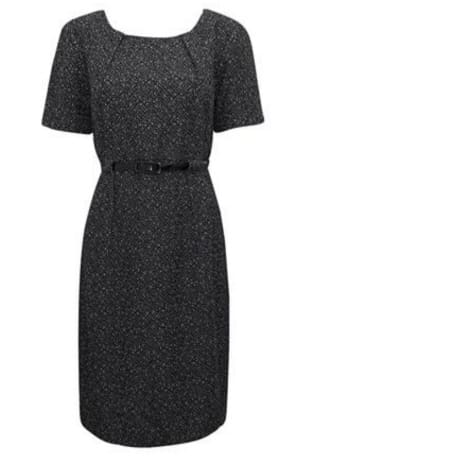 /P/l/Pleated-Tweed-Shift-Dress-with-Belt---Black-7527741.jpg