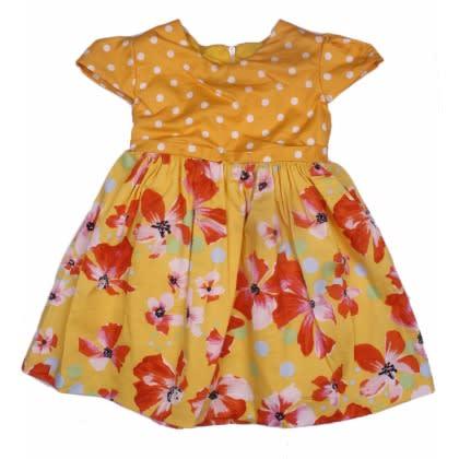 /P/o/Polka-Dots-Floral-Cotton-Dress--Yellow-7915767.jpg