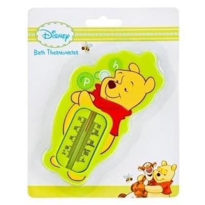 Bath Safety Thermometer Disney Winnie Baby Pooh NEW PINK HEY BABY