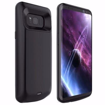 best website 36835 b19ba Power Bank Case For Samsung S8 - Black - 5000mAh