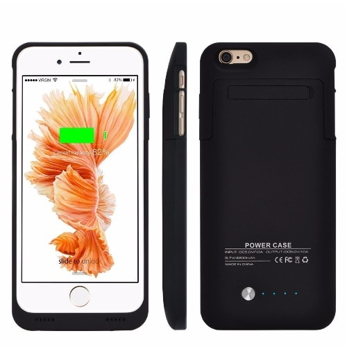 meet e428b 49040 Power Bank Case For iPhone 6\6s Plus - Black