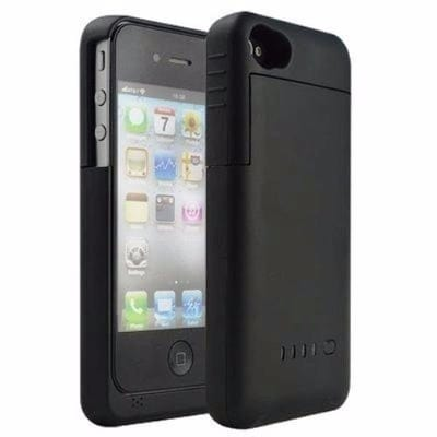 new arrival 872f4 63757 Power Bank Case iPhone 5/5s - Black