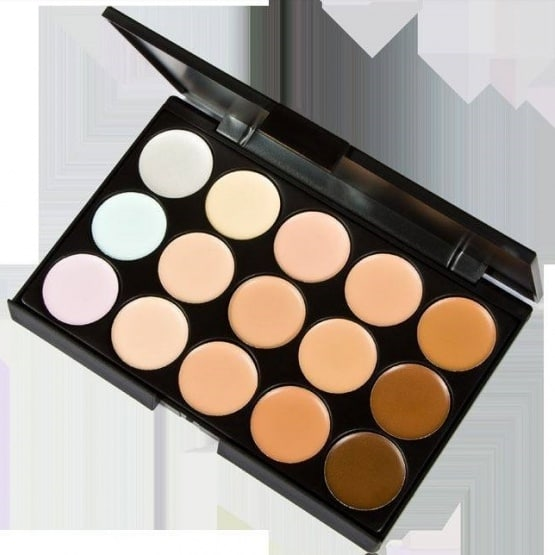 Professional 15 Colors Concealer
