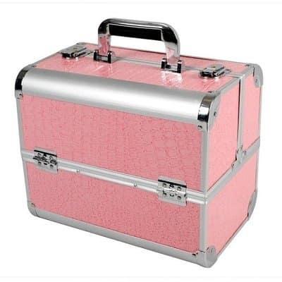 Professional Makeup Box Pink Konga