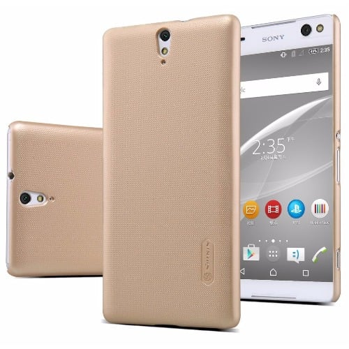 huge selection of 29363 f5e45 Protective Back Case For Sony Xperia C5 Ultra - Gold