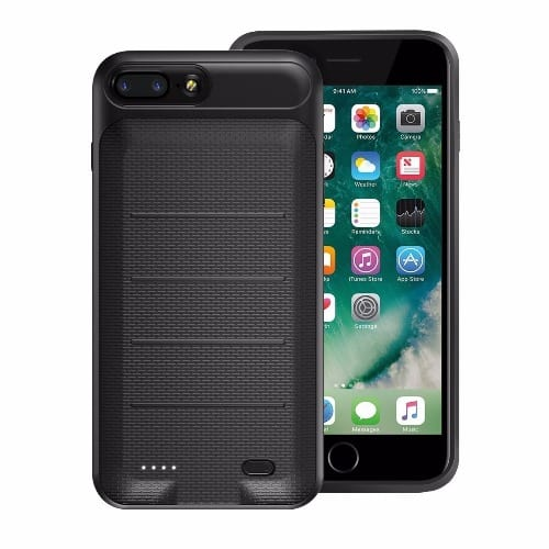 reputable site 04a80 b9998 Protective Back Case for iPhone 8+ Plus or 7 Plus 3650mAh - Black