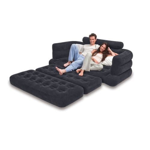 Intex Pull Out Queen Sofa/Bed - Pump Included