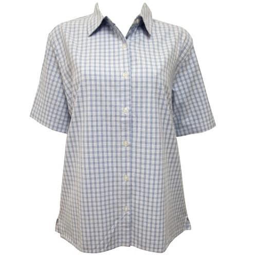 /P/u/Pure-Cotton-Ladies-Short-Sleeve-Checked-Shirt-5989379.jpg