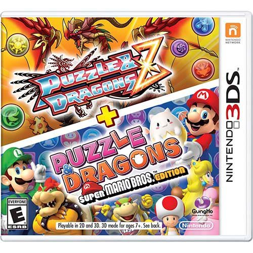 Puzzle & Dragons + Puzzle & Dragons : Super Mario Bros Edition - Nintendo 3DS