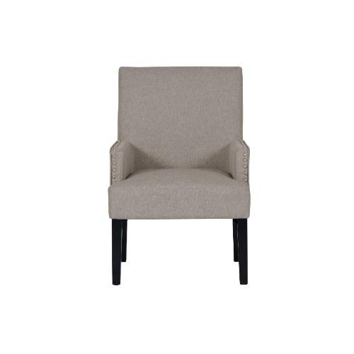 Marvelous Modern Grey Fabric Accent Chair Inzonedesignstudio Interior Chair Design Inzonedesignstudiocom