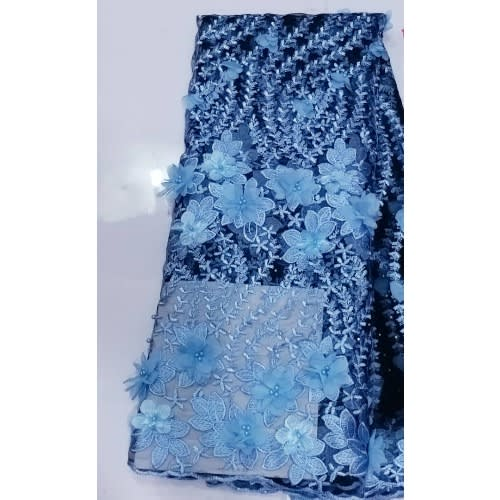 Netcord Lace- Blue -5 Yards
