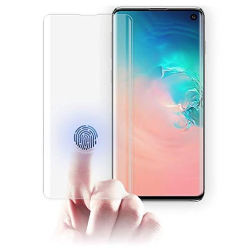 Full Glue Uv Tempered Glass Screen Protector For Samsung S10 Plus