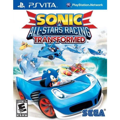 "Psvita Sonic ""all Stars Racing"" Transformed"