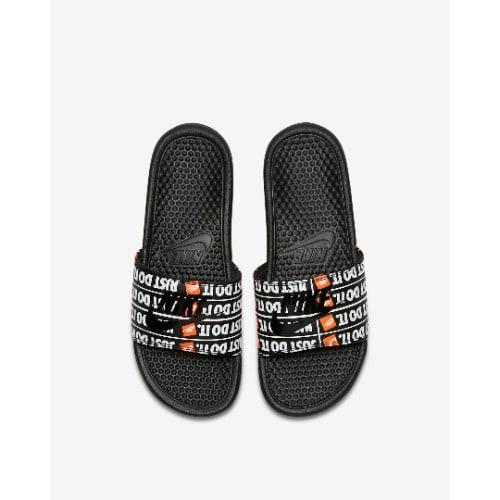 7683f156b113 Nike Benassi Just Do It Print Black - Black