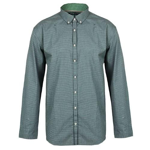6fe52b685 Tommy Hilfiger New-york-fit Check Shirt - Green | Konga Online Shopping