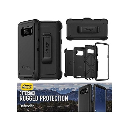 online store 2a941 5f612 Defender Samsung S8 Plus Armour Rugged Protection Case