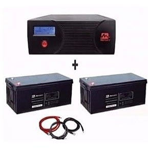 2.4kva Inverter & Units Of 2 100ah Batteries Bundle