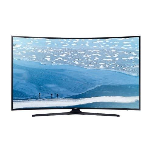 "55"" Ku7350 Curved 4k Uhd Television"