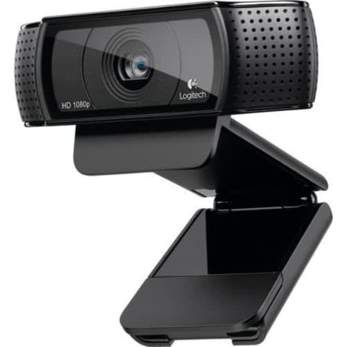 C920 Pro Hd Webcam - 1080p Video With Stereo Audio.