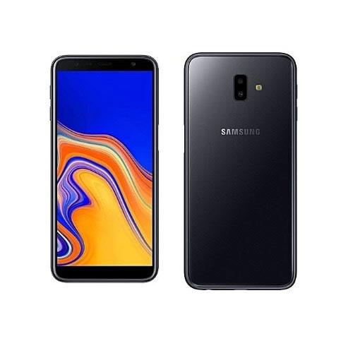 quality design 61e93 4b49f For Galaxy J6 Plus + (Silicon Back Case + Full Hard Glass Screen  Protector)- Black