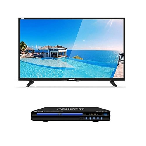"32"" LED TV + DVD Player - Black"