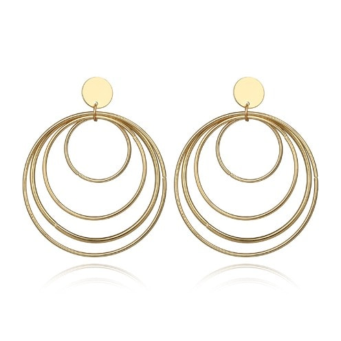Hoop Earrings.