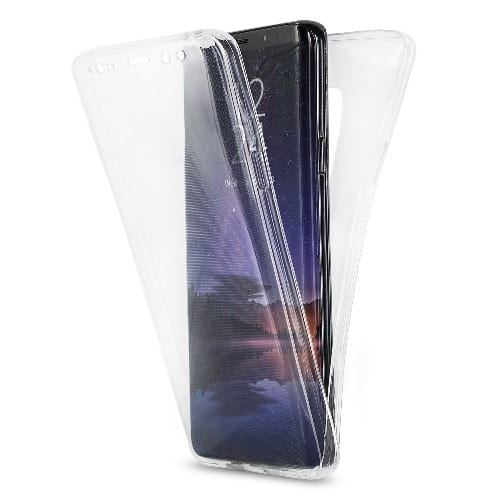 outlet store 029a2 0d628 Clear Transparent 360 Case For Samsung Galaxy S9 Plus