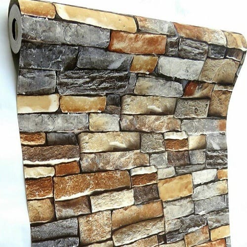 3d Protrusion Bricks Wallpaper